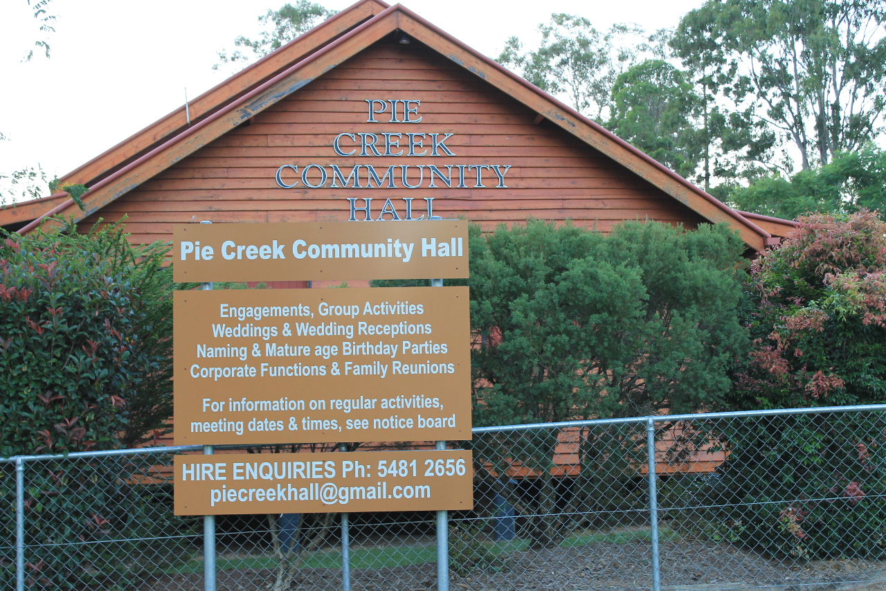 Pie Creek Hall