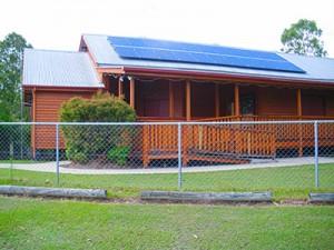 Pie Creek Hall goes green